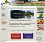 Example of our Web-Design UK web site Oake Manor, for the client based in Somerset