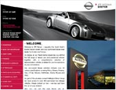 Screenshot of the Web-Design UK web site JFE Nissan
